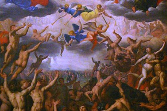 Jacob de Backer, Last Judgment (c. 1580)