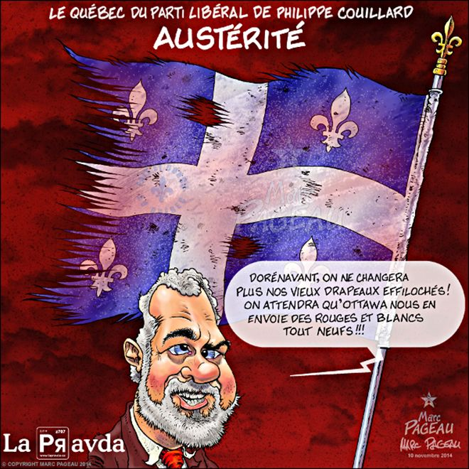 Philippe Couillard Marc Pageau